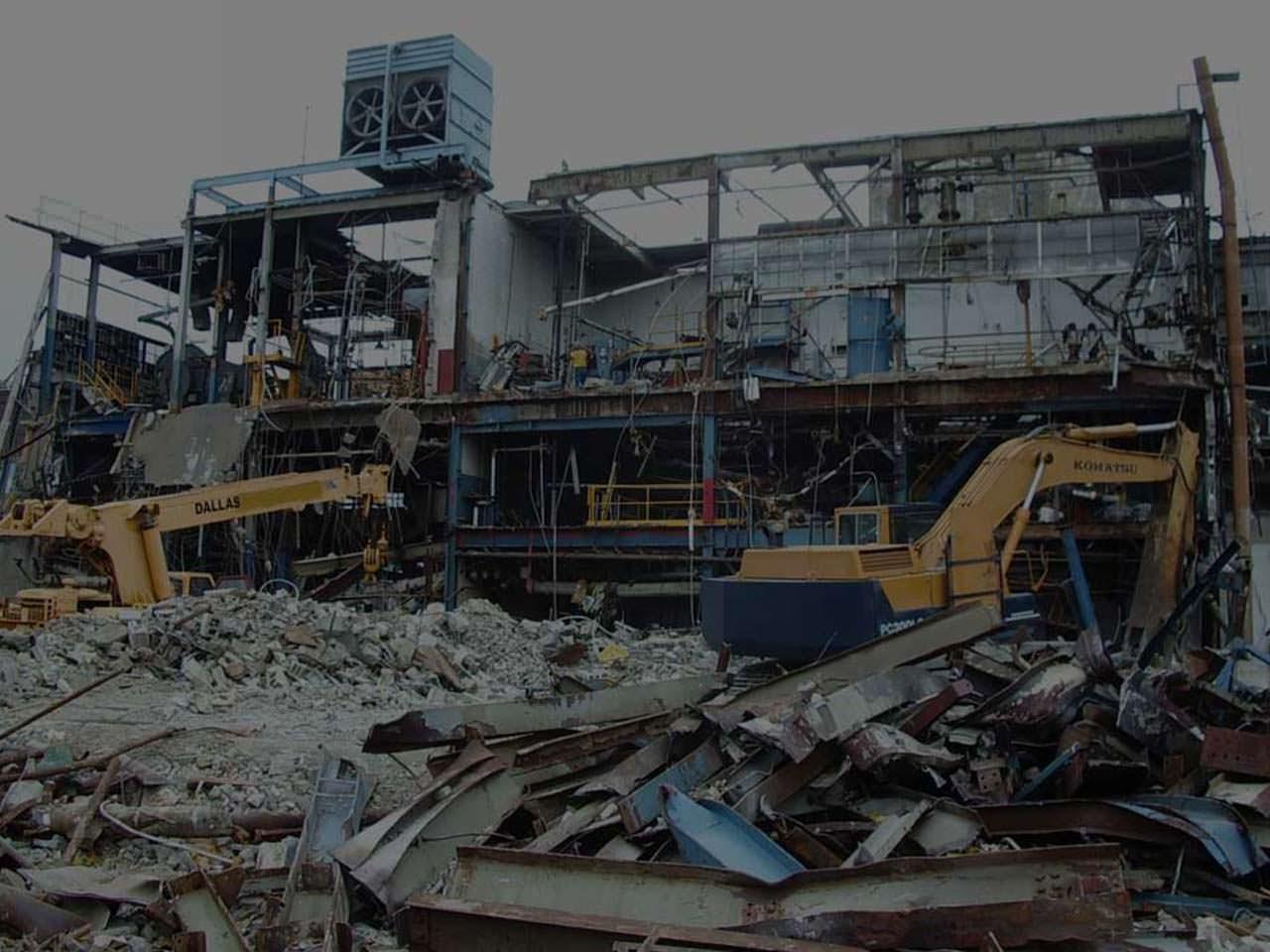 Asian Steel Traders Demolishing Work Buyer Demolishing